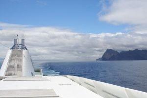 Cruise Ship Sailing